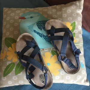 Cliff's by White Mountain Women's Blue Sandals